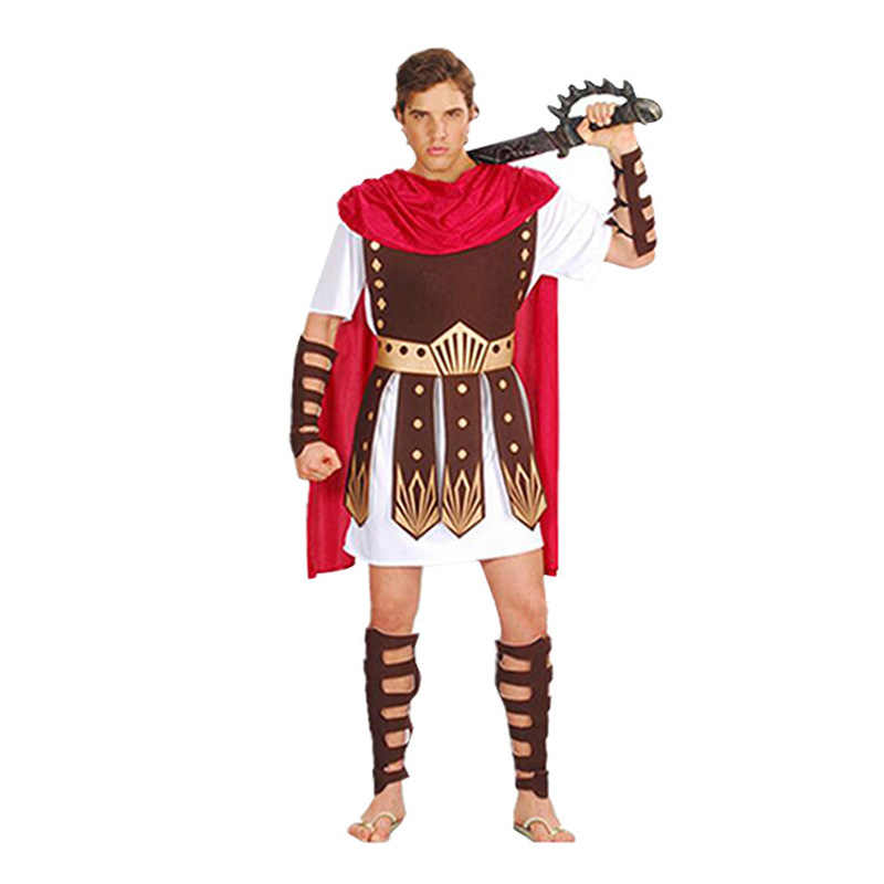 Nam Giới Trưởng Thành Nữ Hóa Trang Halloween Ai Cập Hy Lạp Võ Sĩ Giác Đấu Unisex Ý La Mã Cổ Đại Chiến Binh Sparta Đầm Cos Hiệu Suất Bộ