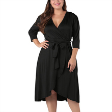 2019 Autumn Plus Size Dress For Women Casual Dresses Vestidos FADZECO African Clothes Store height=