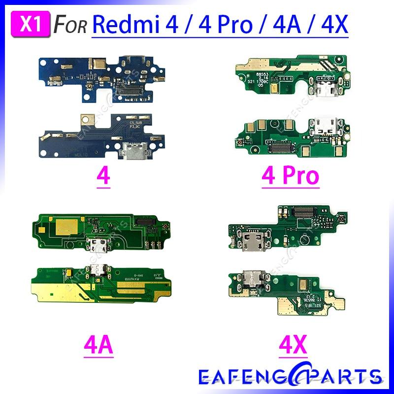 Repair Parts PCB Board Ribbon Flex For Xiaomi Redmi 4 Pro 4A 4X USB Charger Port Flex Cable Charging Dock Connector