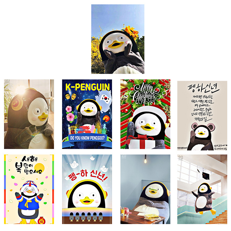 Kpop PENGSOO Poster Stickers Wall Banner Decoration 21*30CM