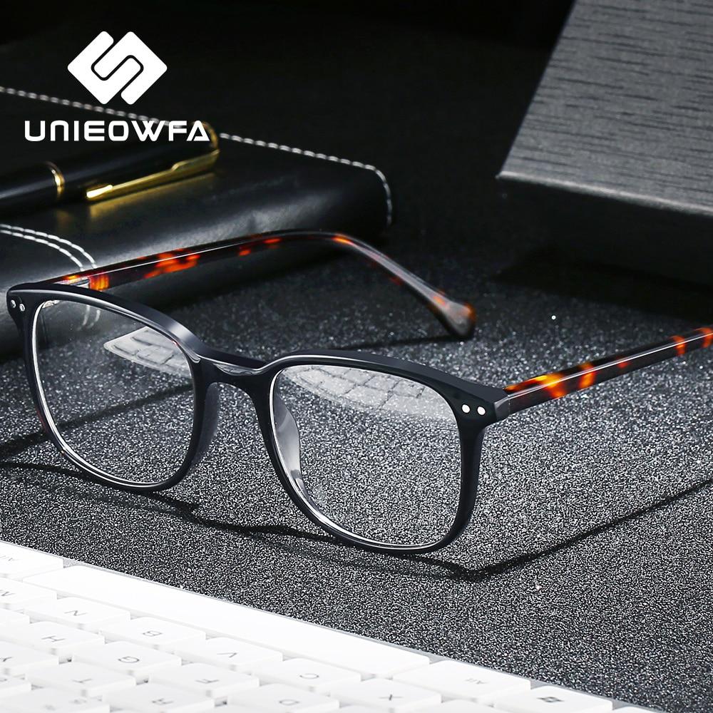 Small Retro Optical Prescription Glasses Men Bifocal Multifocal Progressive Eyeglasses Women Myopia Clear Anti Blue Light 1.74