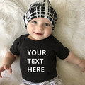 Боди для новорожденных с коротким рукавом и принтом