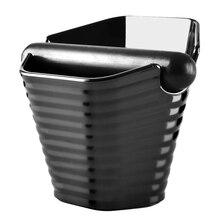 New Coffee  Knock Box And Espresso Anti slip Dump Bin with Detachable Knock Bar