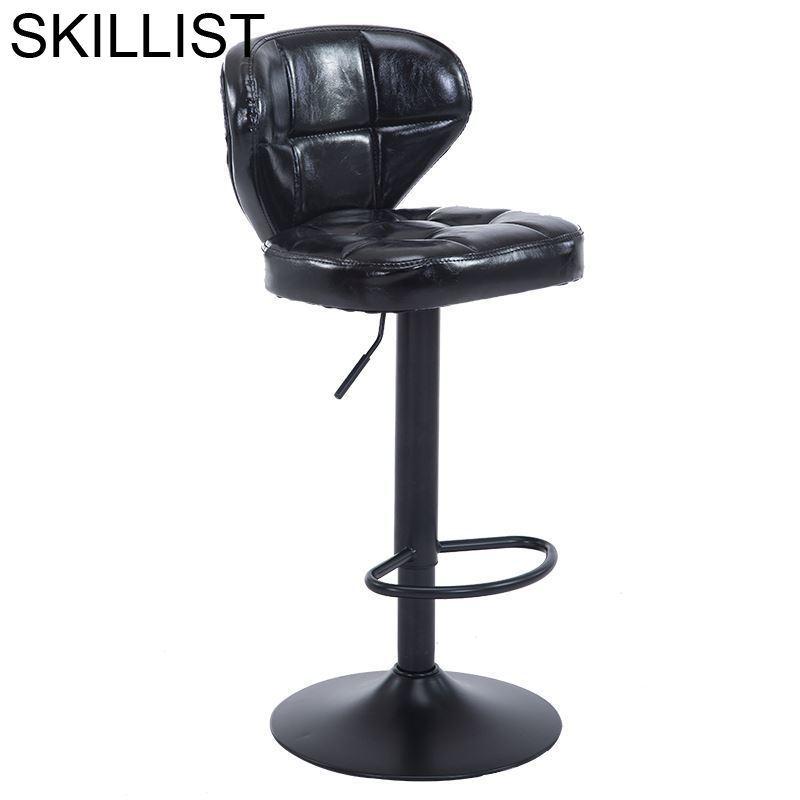 Sgabello Ikayaa Sandalyeler Industriel Cadir Taburete Kruk Para Barra Leather Silla Tabouret De Moderne Stool Modern Bar Chair