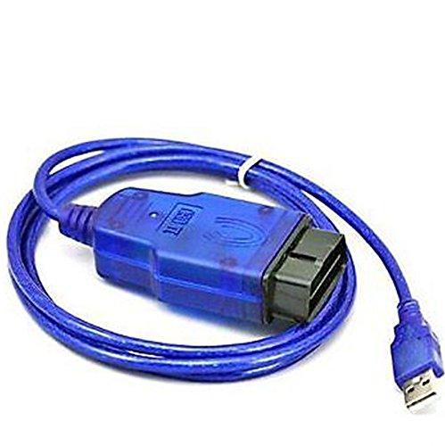 HaoYiShang USB OBD2 OBD-II Cavo KKL COM diagnosi Scanner per 409,1 Audi VW Skoda