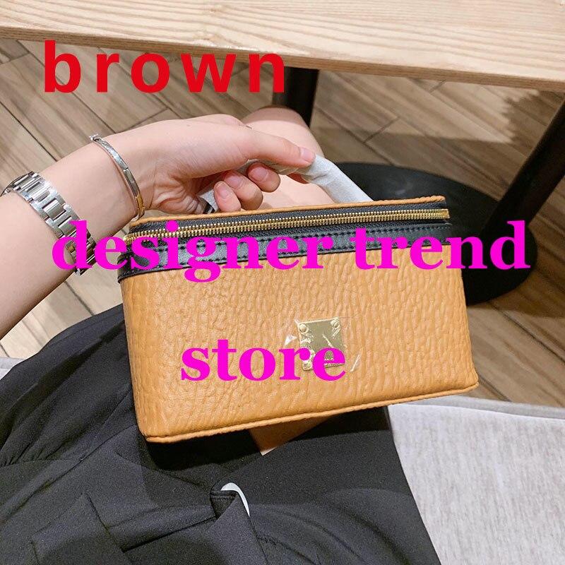 Célèbre marque Designer maquillage sac femmes mode étui Fuorescent taille sac Top qualité ceinture sacs pour femmes 2019