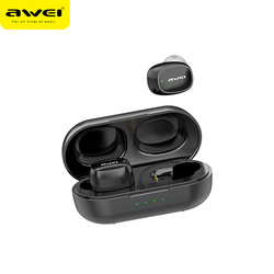 AWEI T13 TWS True Wireless Bluetooth Earbuds Bass HiFi In-Ear Mini Capsule Touch Contorl With Mic HiFi Stereo Gaming Earbuds