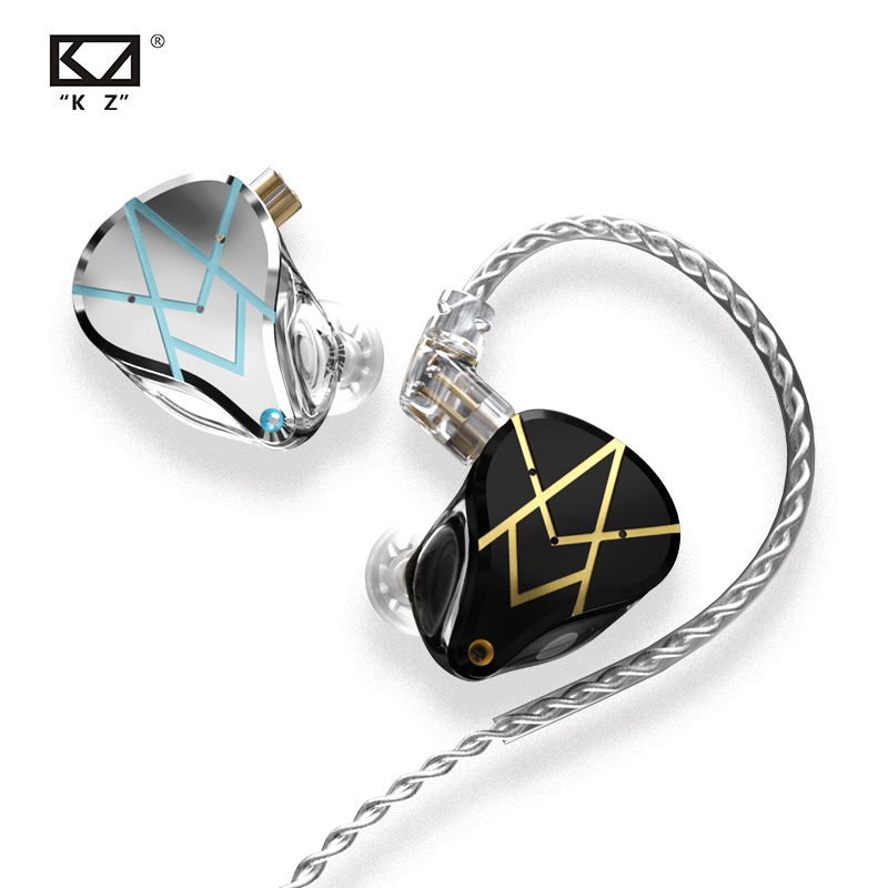 KZ ASX 20BA Units HIFI In Ear Earphone Bass DJ Monitor Earbuds Noise Cancelling Headphone KZ ZSX ZAX ZSN PRO X ZST X CCA CA16