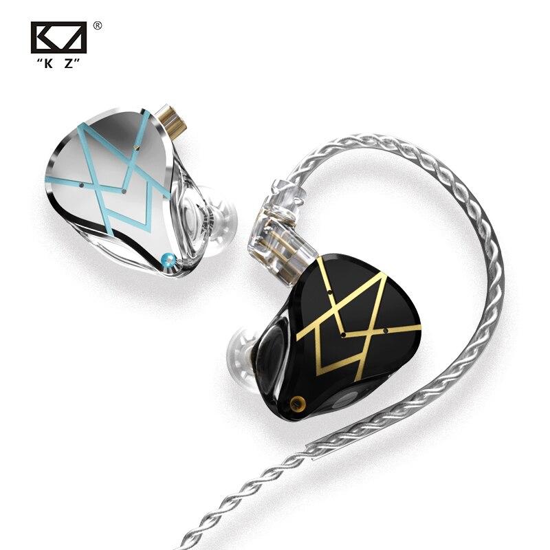 Kz Asx 20BA Eenheden Hifi In Ear Oortelefoon Bass Dj Monitor Oordopjes Noise Cancelling Hoofdtelefoon Kz Zsx Zax Zsn Pro X Zst X Cca CA16