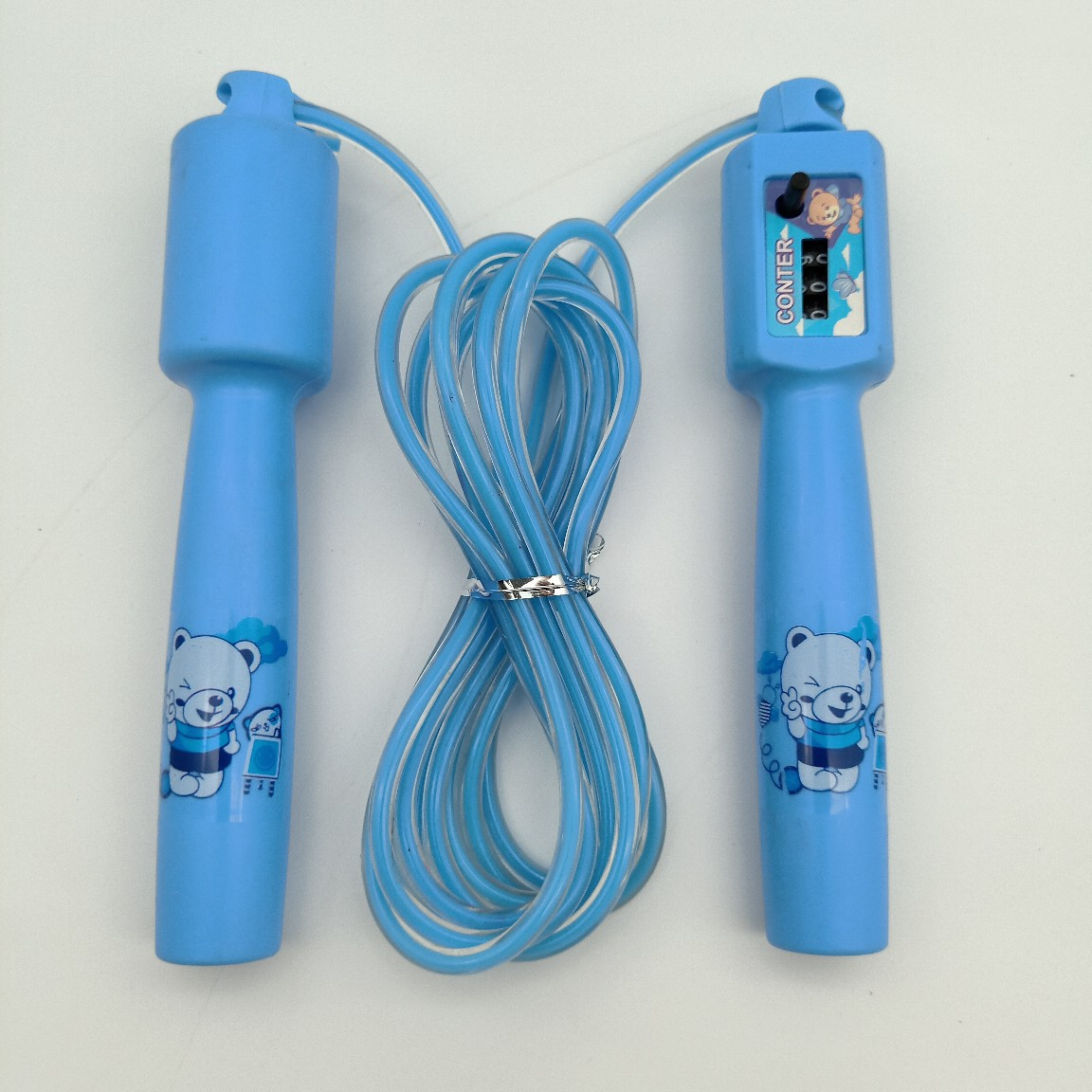 Liang Jian Manufacturers Direct Selling Sports Activity Jump Rope Cartoon Plastic Count Handle Bag Children Sports PVC Rope