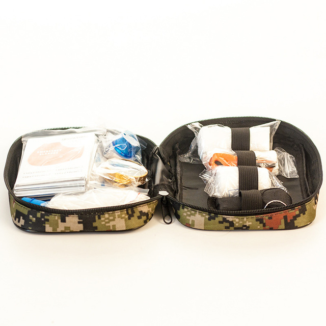 Travel First Aid Kit Car First Aid Bag Home Small Medical Box Emergency Survival 4