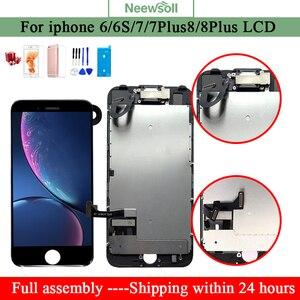 Image 1 - Für iPhone 6 7 7 Plus 8 LCD für iphone 7 screen display für iphone 8 lcd Vollversammlung handy teile bildschirm für iphone7 6S