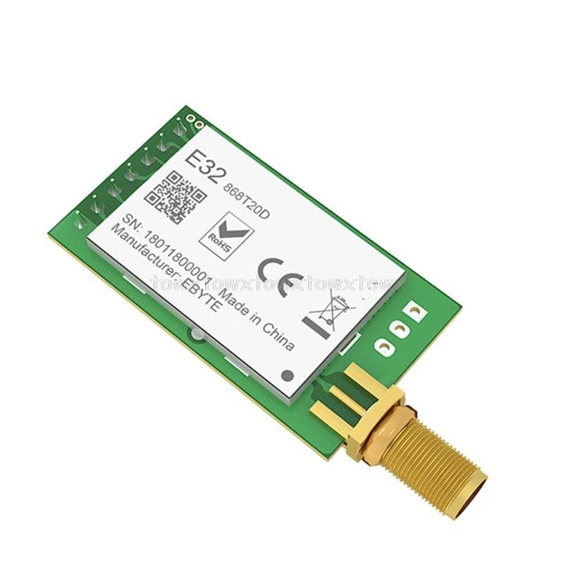 LORA SX1278 433MHz RF Module Transmitter Receiver E32-433T30D UART Long Range 433 MHz 1W Wireless Rf Transceiver O11 19 Dropship