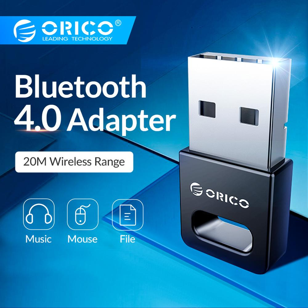 ORICO Mini Wireless USB Bluetooth 4.0 Adapter For Windows XP Vista 7/8/10 Connect PC to Bluetooth Speaker Headphone Mouse-in USB Bluetooth Adapters/Dongles from Computer & Office