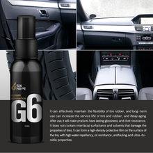 Interior del coche capa de cerámica liquida cristal hidrófobo revestimiento polaco cera mejor 50ml автомобильные товары coche для автомобиля