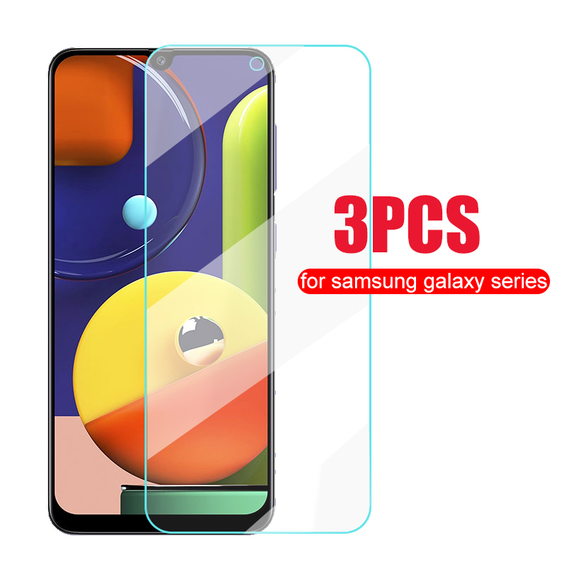 3PCS <font><b>Tempered</b></font> <font><b>Glass</b></font> Screen Protector For <font><b>Samsung</b></font> Galaxy A50 A30 A20 <font><b>A10</b></font> A60 A70 <font><b>Glass</b></font> For <font><b>Samsung</b></font> A50s A30s A20s A10s a20e film image