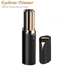 Mini Eyebrow Epilator Rechargeable Eye Brow Trimmer Face Razor Painless Portable Brow Shaping Trimmer For Women Hair Remover avon electronic brow trimmer