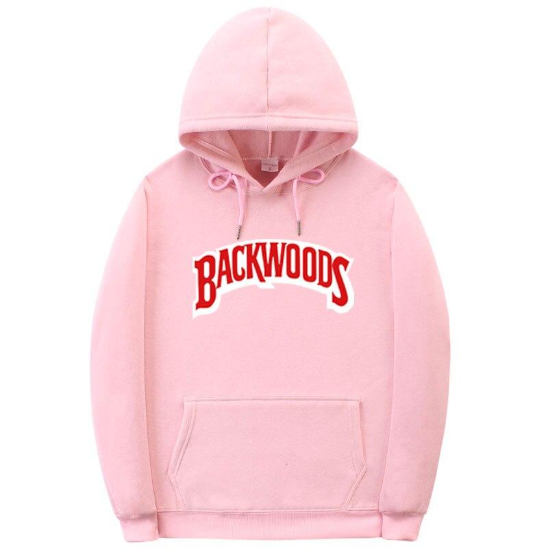 2020Z gwintem mankiet bluzy z kapturem Streetwear Backwoods bluza z kapturem bluza męska moda jesień zima bluza z kapturem w sty