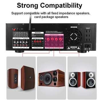 Усилитель мощности SUNBUCK AV-999BT, 7-канальный, Bluetooth, FM, USB, SD 4