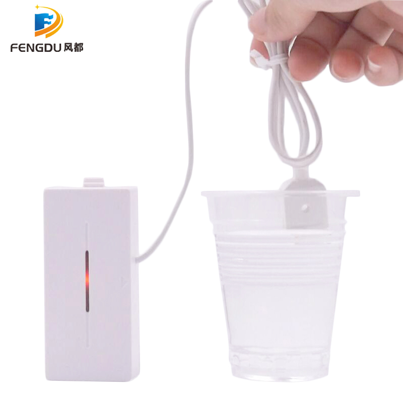 Security Wireless Water Leakage Sensor Detector Water Flood Sensor 433mhz Leak Detector For G90B Alarm Panel