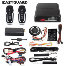 EASYGUARD app control IOS Android 4G 3G 2G keyless entry system engine start stop remote engine start GPS GSM security system