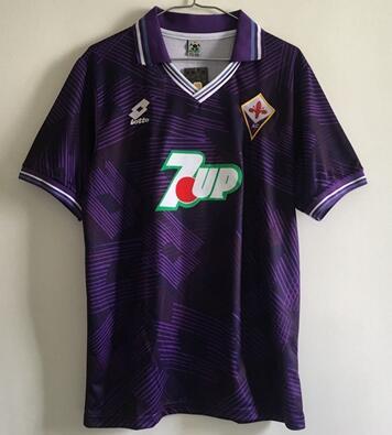 1992 93 Florence Vintage 9 Jersey 9 BATISTUTA 10 RUI COSTA Vintage 1993 Florence Football Wear