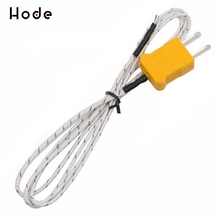 1/5pcs 1m 2m 3m 5m Wire K Type Thermocouple Sensor Probe Test Temperature