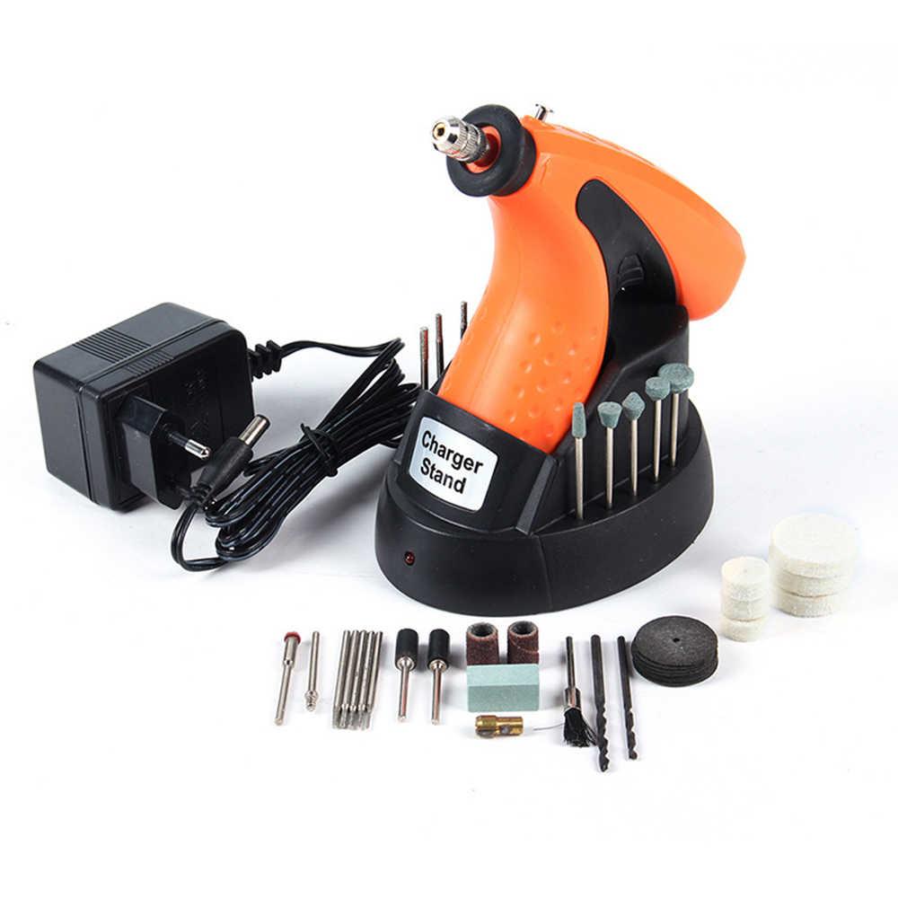 Perceuse électrique meuleuse Mini sans fil gravure stylo perceuse 3.6V Rechargeable meulage polissage outils outils rotatifs