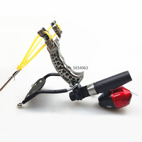 Shooting powerful fishing compound bow catching fish high speed hunting 2