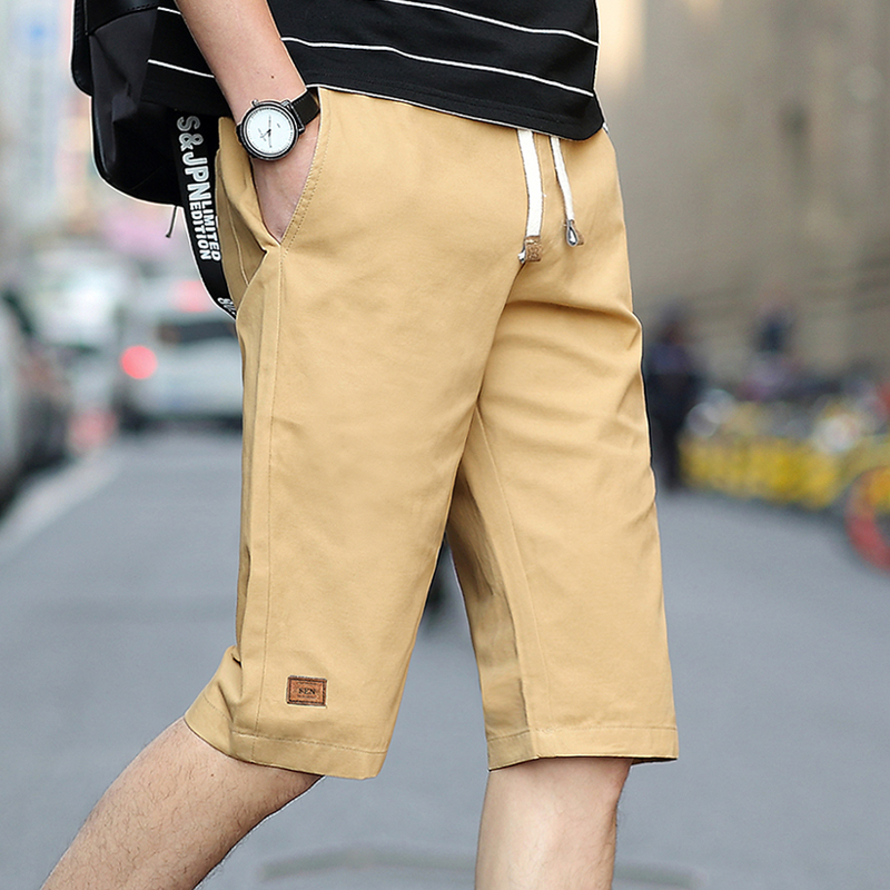 Шорты мужские свободного покроя, повседневные Капри для инструментов, модные пляжные штаны, большие размеры 7XL 6XL, на лето|Шорты| | АлиЭкспресс