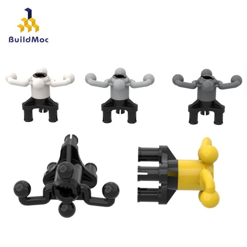 BuildMOC Compatible Assembles Particles 32495 Wheel Suspension Assembly Building Blocks Parts DIY Educational Gift Toys