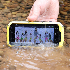 3G WCDMA Smartphones IP68 Waterproof Rugged GSM Android 6.0 Shockproof Wifi GPS Cheap Mobile Phone Touch telephone Celular