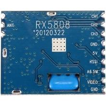 Hot 5.8G FPV Mini Wireless Audio Video Receiver Module RX5808 for FPV