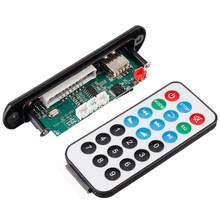LEORY 15Wx2 placa decodificadora de Audio MP3, bluetooth 5,0, placa amplificadora de potencia sin pérdidas, accesorios para amplificador de Audio con varilla de tracción