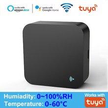 WIFI IR Remote Control Temperature & Humidity Sensor Tuya APP Voice Control Infrared IR Smart Home Automation Alexa Google Home