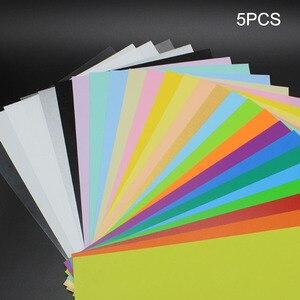 5 шт./компл. Цвет термоусадочный лист Пластик Magic Бумага лист для образовательных поделки своими руками имени якоря моря Чайки