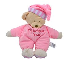 Baby Sleeping Dolls Soothing Emotional Toys 1-year-old 2-year-old Baby Sleeping With Super soft Plush Doll Dolls Sleeping Toys cheap OCDAY TV Movie Character Velour 3 years old Other bear Plush Nano Doll Stuffed Plush Unisex Animals Blue Pink Coffee