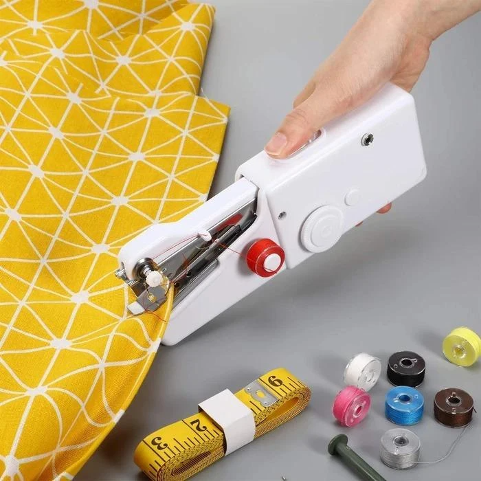 Handy Electric Tailor  Machine Portable Household Mini Quick Stitch Sew Needlework Cordless Clothes Fabrics|Sewing Machines|   - AliExpress