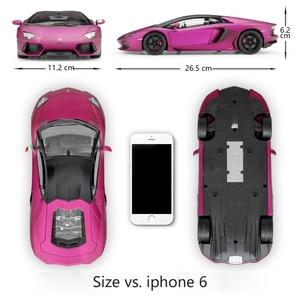 Image 2 - Welly diecast 1:18 높은 시뮬레이터 모델 자동차 람보르기니 aventador lp700 금속 레이싱 자동차 합금 완구 어린이 선물 컬렉션