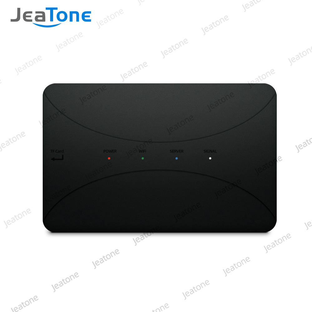 JeaTone WiFi IP BOX For Analog Video Doorphone Intercom System Remote Unlocking Control Android IPhone Tuya APP On Smart Phone