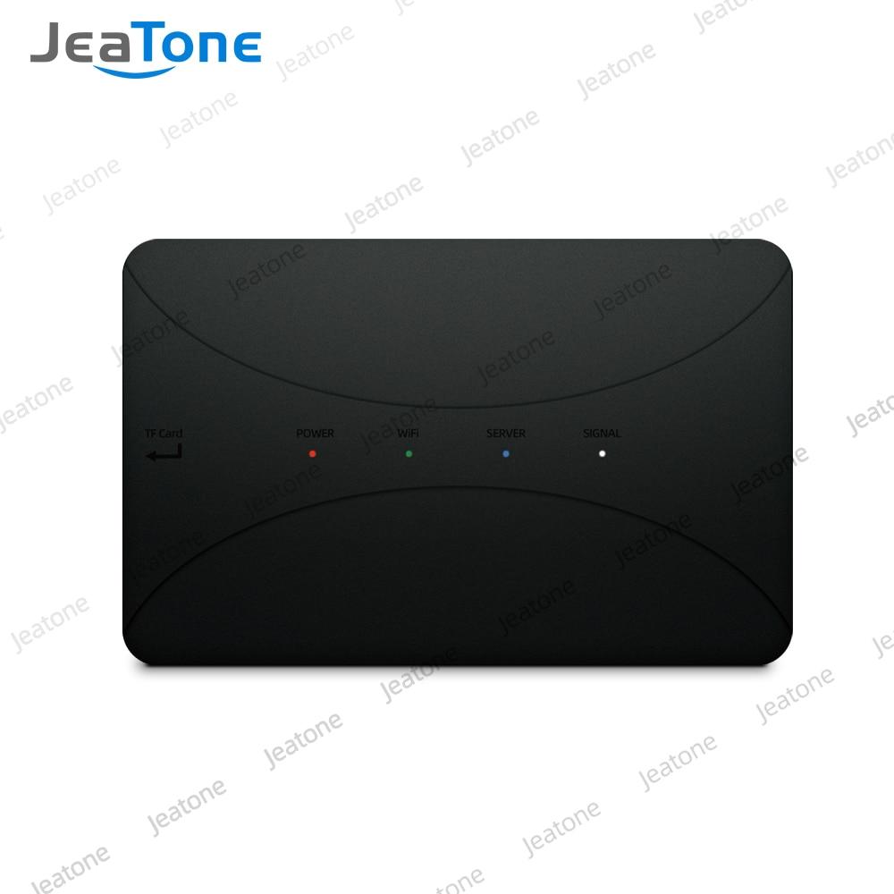 JeaTone WiFi IP BOX For Analog Video Doorphone Intercom System Remote Unlocking Control Android IPhone Tuya APP On Smart Phone