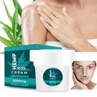 Crema facial antiarrugas de cáñamo, tratamiento antienvejecimiento para el acné, reduce los poros, elimina la pigmentación, cuidado facial fino y suave, 40g