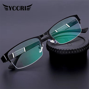 2020New Trend Reading Glasses Reading Glasses Men and Women High Quality Half Frame Diopters Business Office Men Reading Glasses