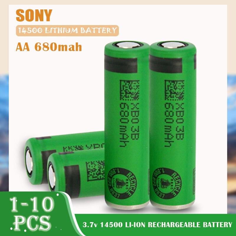 Литиевая аккумуляторная батарея Sony US14500VR2, 3,7 в, 14500, 680 мАч, 1-10 шт.