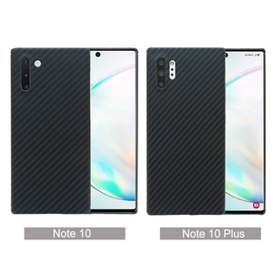 Image 2 - Carbon fiber phone case for Samsung note10 Galaxy note10 Plus Thin and light attributes Half encirclement Aramid fiber material