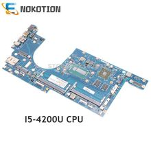 NOKOTION 04X5122 VIUS6 LA-A171P Für Lenovo ThinkPad S540 S5-S540 Laptop Motherboard SR170 I5-4200U CPU HD 8670M 2GB
