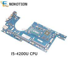 NOKOTION 04X5122 VIUS6 LA-A171P Für Lenovo ThinkPad S540 S5-S540 Laptop Motherboard SR170 I5-4200U CPU HD 8670M 2GB