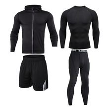 Training Tracksuit Sportswear Physical Sports-Clothing Gym Athletic Fitness Workout Jogging