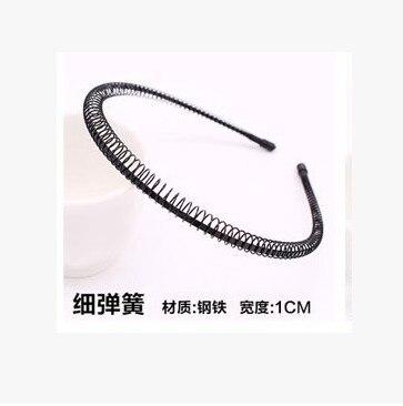 Новая мода Мужская Женская унисекс черная волнистая повязка для волос спортивная повязка для волос аксессуары для волос - Цвет: 10