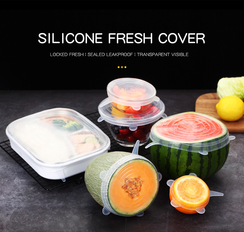 Stretch And Fit-Silicone Stretch Lids